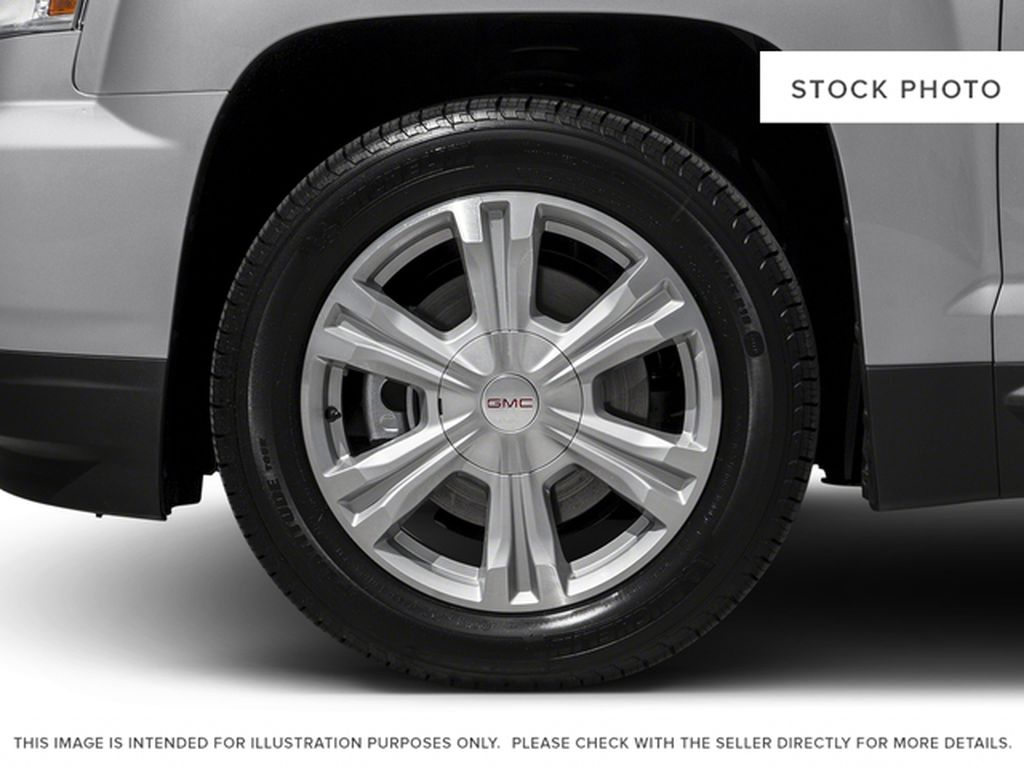 Silver[Quicksilver Metallic] 2017 GMC Terrain Left Front Rim and Tire Photo in Fort Macleod AB