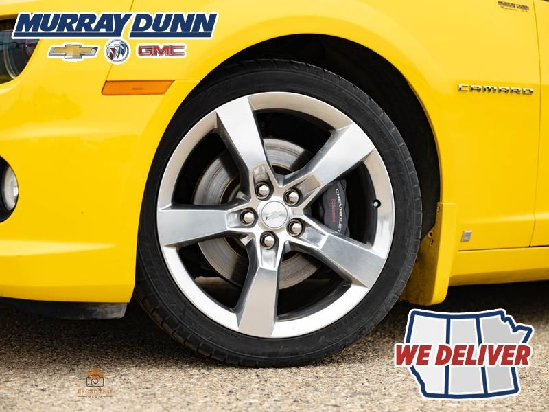 2010 Chevrolet Camaro Left Front Rim and Tire Photo in Nipawin SK