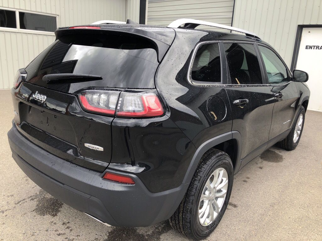 Black 2019 Jeep Cherokee Left Front Interior Photo in Fort Macleod AB