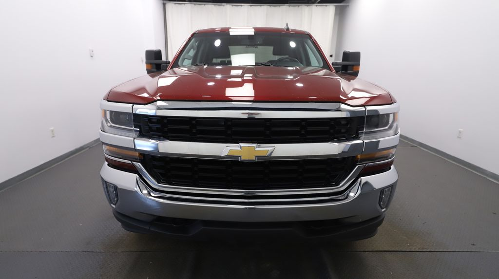 Red 2017 Chevrolet Silverado 1500 Left Front Head Light / Bumper and Grill in Lethbridge AB
