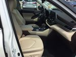White[Blizzard Pearl] 2021 Toyota Highlander Right Side Front Seat  Photo in Brockville ON