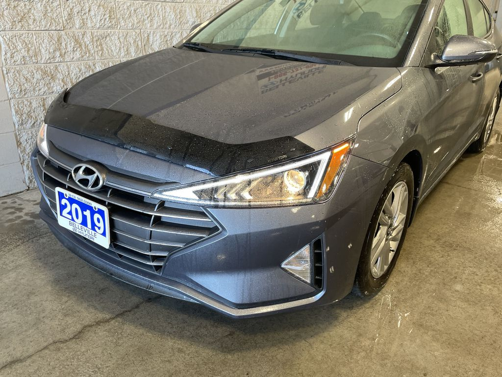 Gray[Iron Gray] 2019 Hyundai Elantra Left Front Rim and Tire Photo in Belleville ON