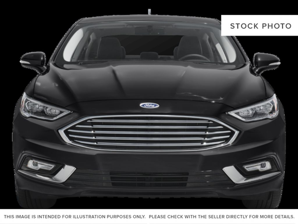 White[Oxford White] 2018 Ford Fusion Front Vehicle Photo in Dartmouth NS