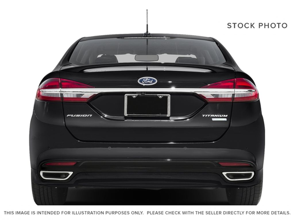 White[Oxford White] 2018 Ford Fusion Rear of Vehicle Photo in Dartmouth NS