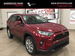 Red[Ruby Flare Pearl] 2021 Toyota RAV4 XLE Premium Primary Listing Photo in Sherwood Park AB