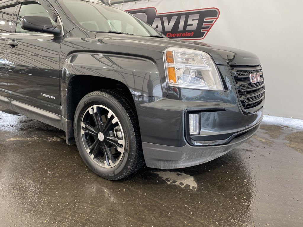Grey 2017 GMC Terrain Left Side Rear Seat  Photo in Airdrie AB