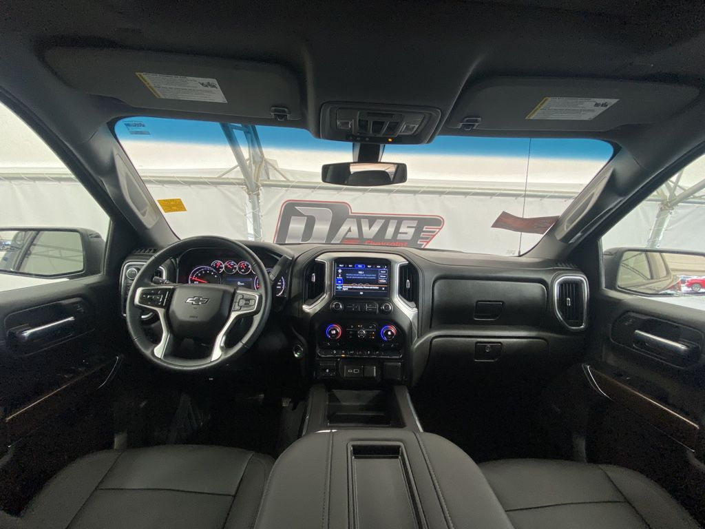 Blue 2021 Chevrolet Silverado 1500 Driver's Side Door Controls Photo in Airdrie AB