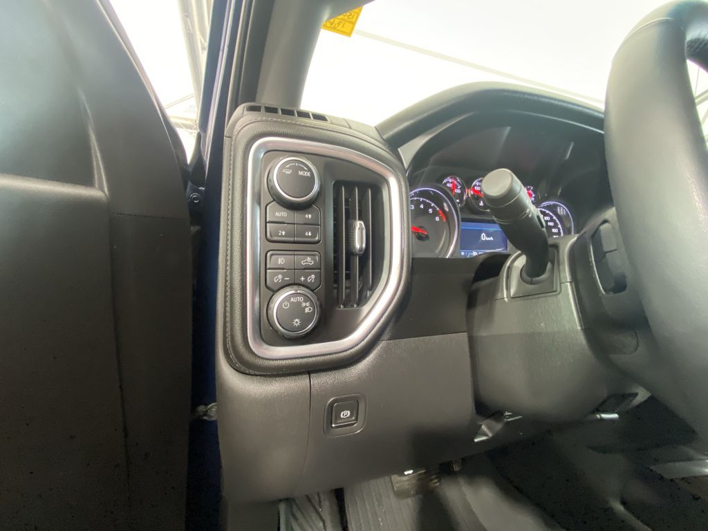 Blue 2021 Chevrolet Silverado 1500 Front Vehicle Photo in Airdrie AB