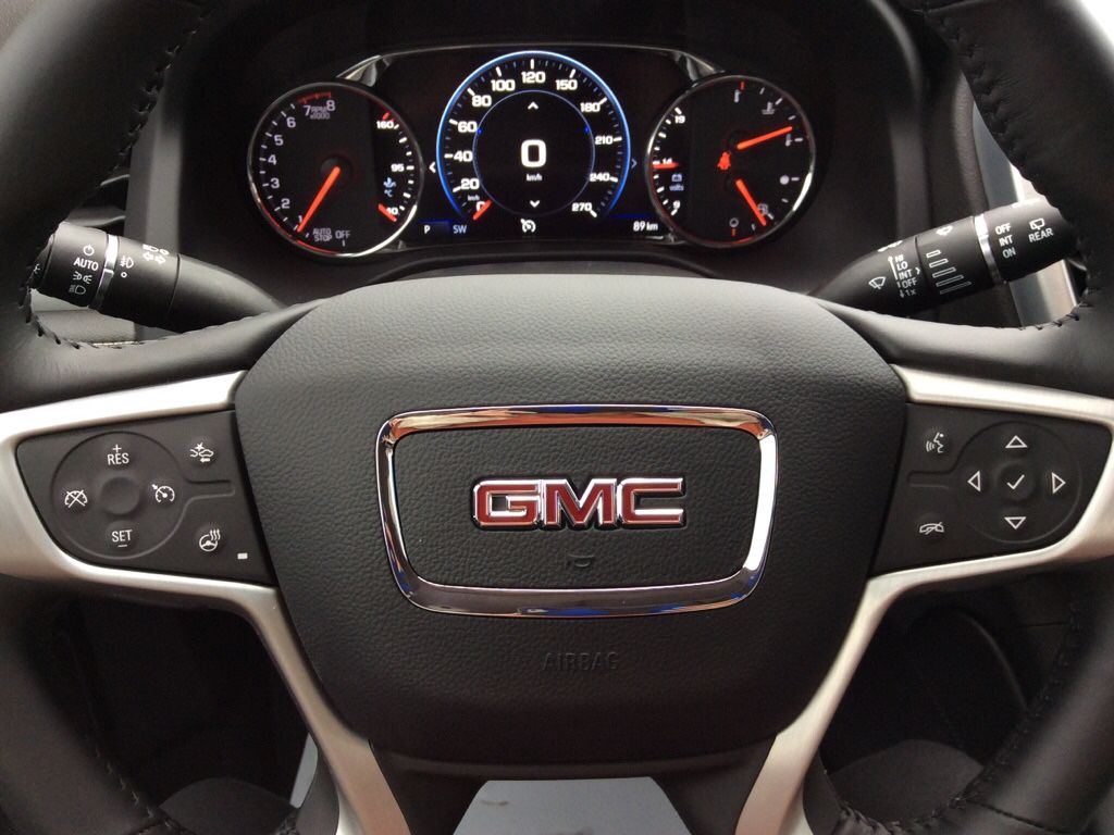 White 2021 GMC Acadia Left Side Rear Seat  Photo in Westlock AB