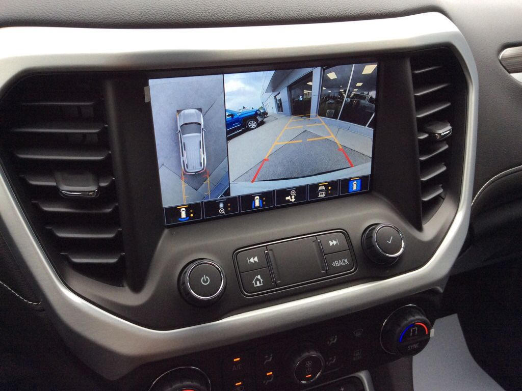 White 2021 GMC Acadia Central Dash Options Photo in Westlock AB