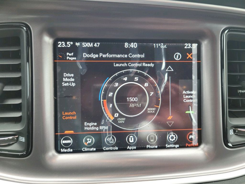 White 2021 Dodge Challenger Odometer Photo in Fort Macleod AB