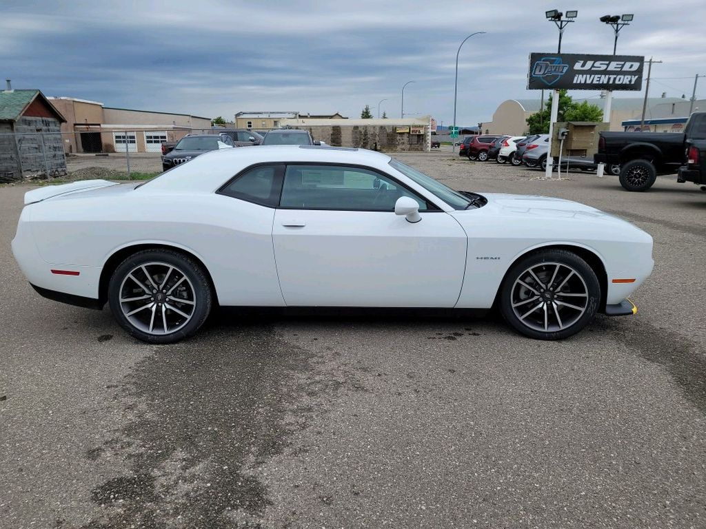 White 2021 Dodge Challenger Left Front Interior Photo in Fort Macleod AB