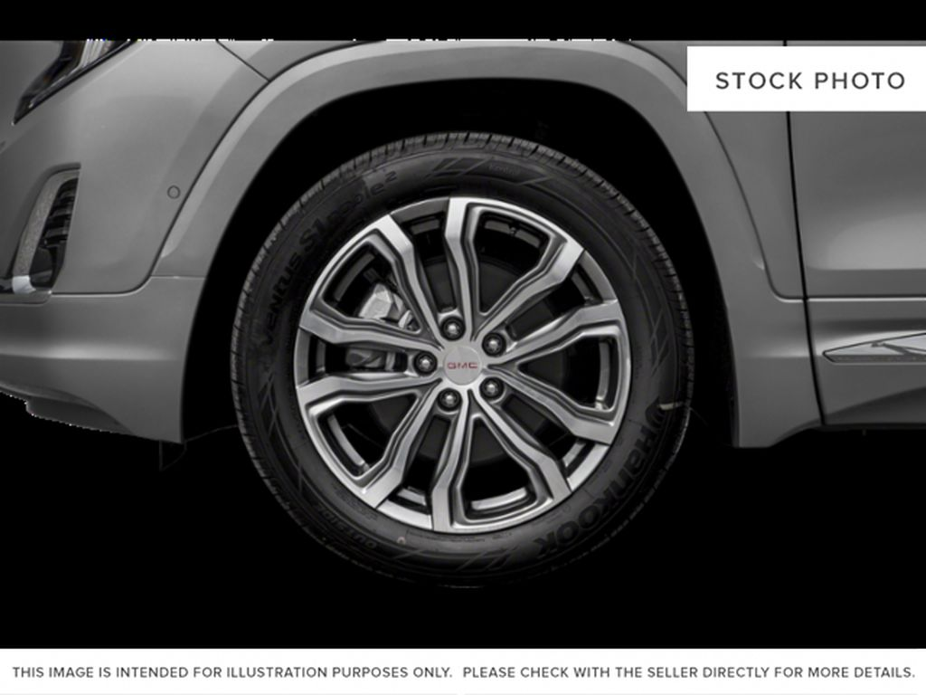 White[Summit White] 2019 GMC Terrain Left Front Rim and Tire Photo in Fort Macleod AB