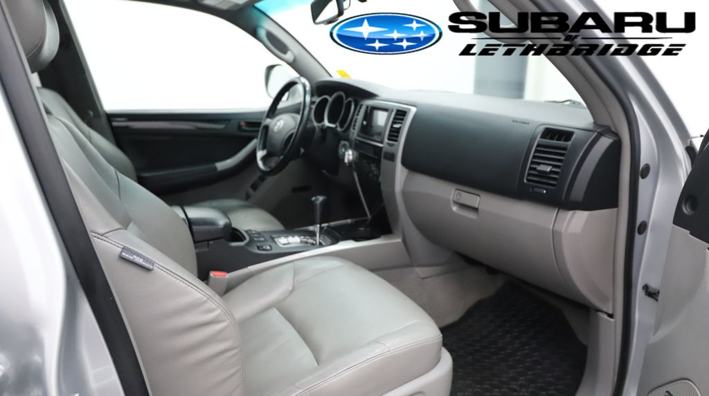Silver 2008 Toyota 4Runner Steering Wheel and Dash Photo in Lethbridge AB