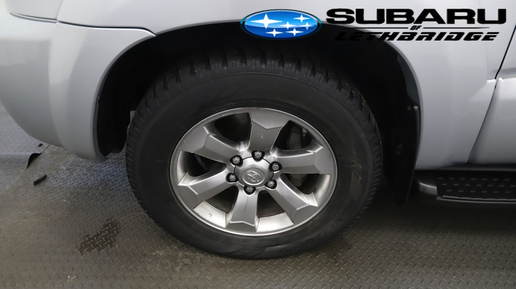 Silver 2008 Toyota 4Runner Left Front Rim and Tire Photo in Lethbridge AB