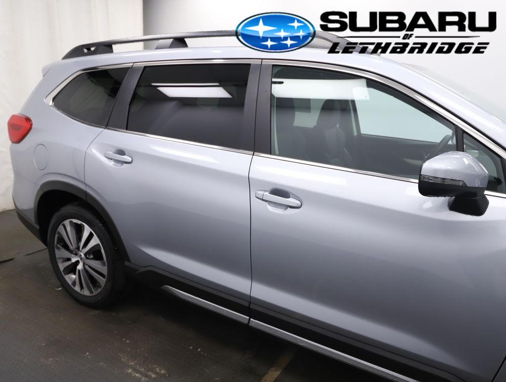 Silver 2021 Subaru Ascent Left Front Head Light / Bumper and Grill in Lethbridge AB