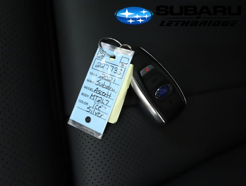 Silver 2021 Subaru Ascent Right Side Rear Seat  Photo in Lethbridge AB