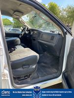 White[Bright White] 2003 Dodge Ram 2500 Right Side Front Seat  Photo
