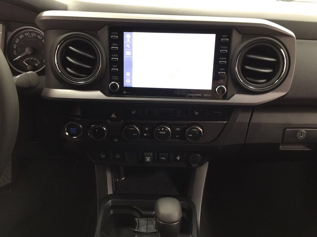 Gray[Cement Grey Metallic] 2021 Toyota Tacoma TRD Off-Road Premium Central Dash Options Photo in Sherwood Park AB