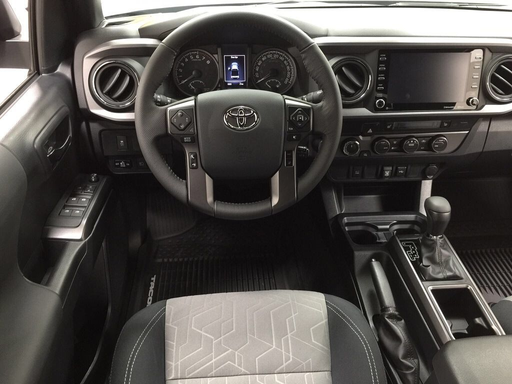 Gray[Cement] 2021 Toyota Tacoma TRD Sport Left Front Seat Photo in Sherwood Park AB