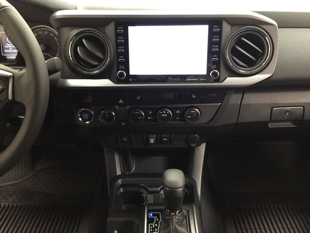 Gray[Cement] 2021 Toyota Tacoma TRD Sport Central Dash Options Photo in Sherwood Park AB
