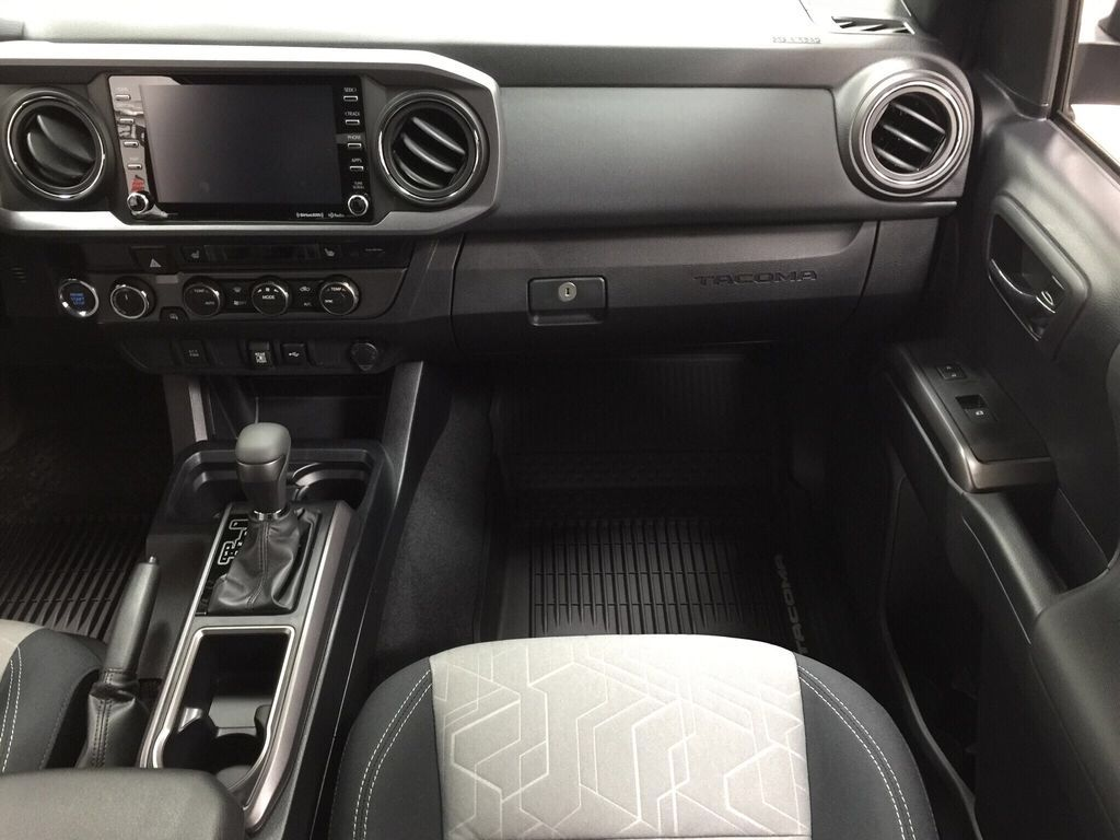 Gray[Cement] 2021 Toyota Tacoma TRD Sport Right Front Seat Photo in Sherwood Park AB