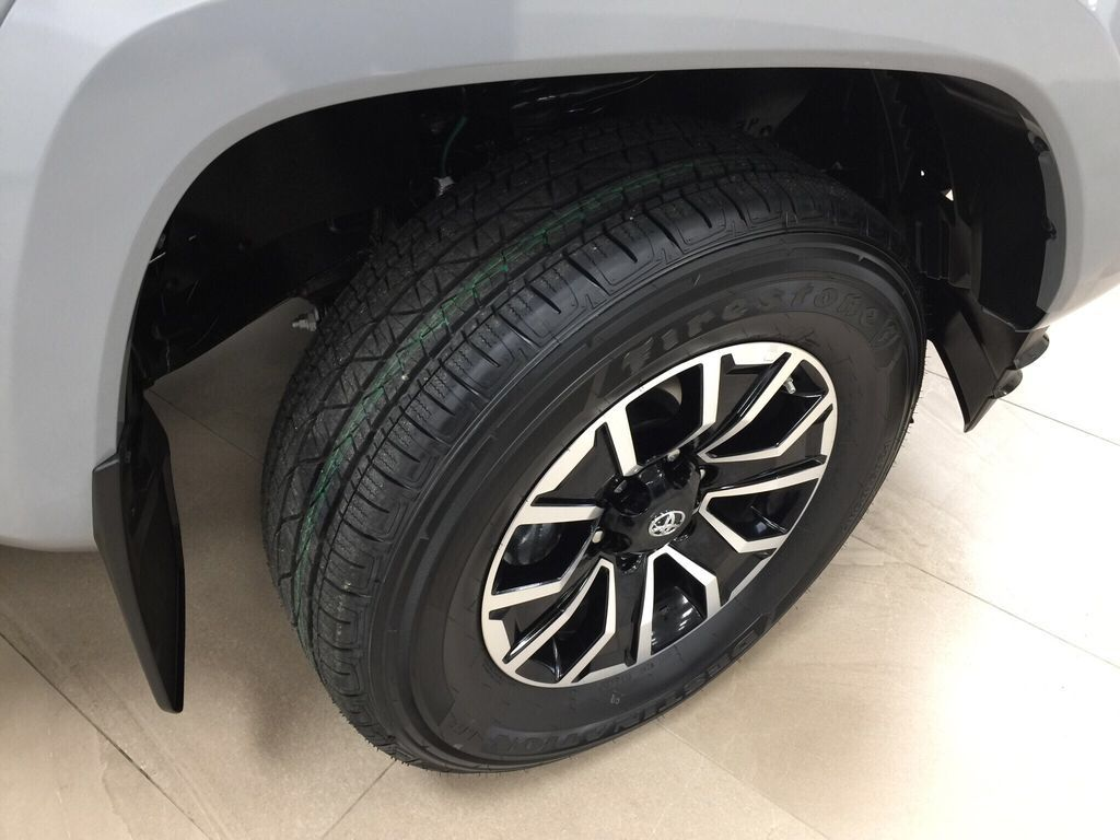 Gray[Cement] 2021 Toyota Tacoma TRD Sport Right Front Rim and Tire Photo in Sherwood Park AB