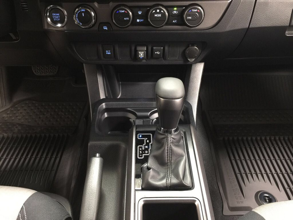 Gray[Cement] 2021 Toyota Tacoma TRD Sport Lower Dash Photo in Sherwood Park AB