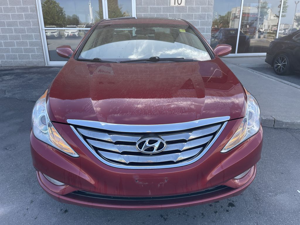 Red[Sparkling Ruby Mica] 2012 Hyundai Sonata **DIRTY** Left Side Photo in Brampton ON