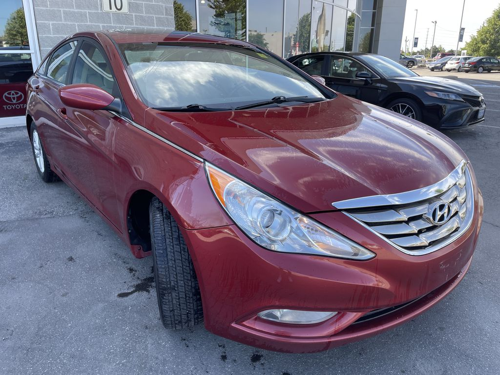 Red[Sparkling Ruby Mica] 2012 Hyundai Sonata **DIRTY** Engine Compartment Photo in Brampton ON