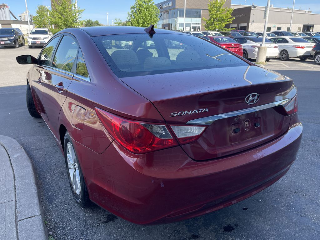 Red[Sparkling Ruby Mica] 2012 Hyundai Sonata **DIRTY** Left Front Interior Door Panel Photo in Brampton ON
