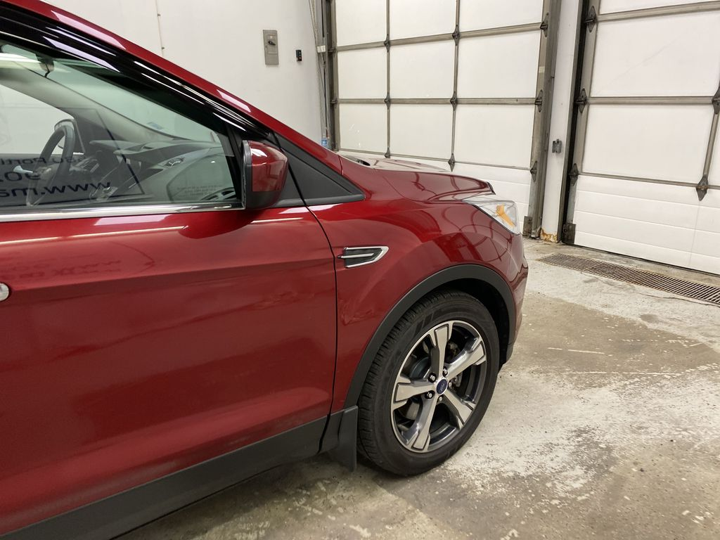 Red[Ruby Red Metallic Tinted Clearcoat] 2017 Ford Escape Right Front Corner Photo in Dartmouth NS
