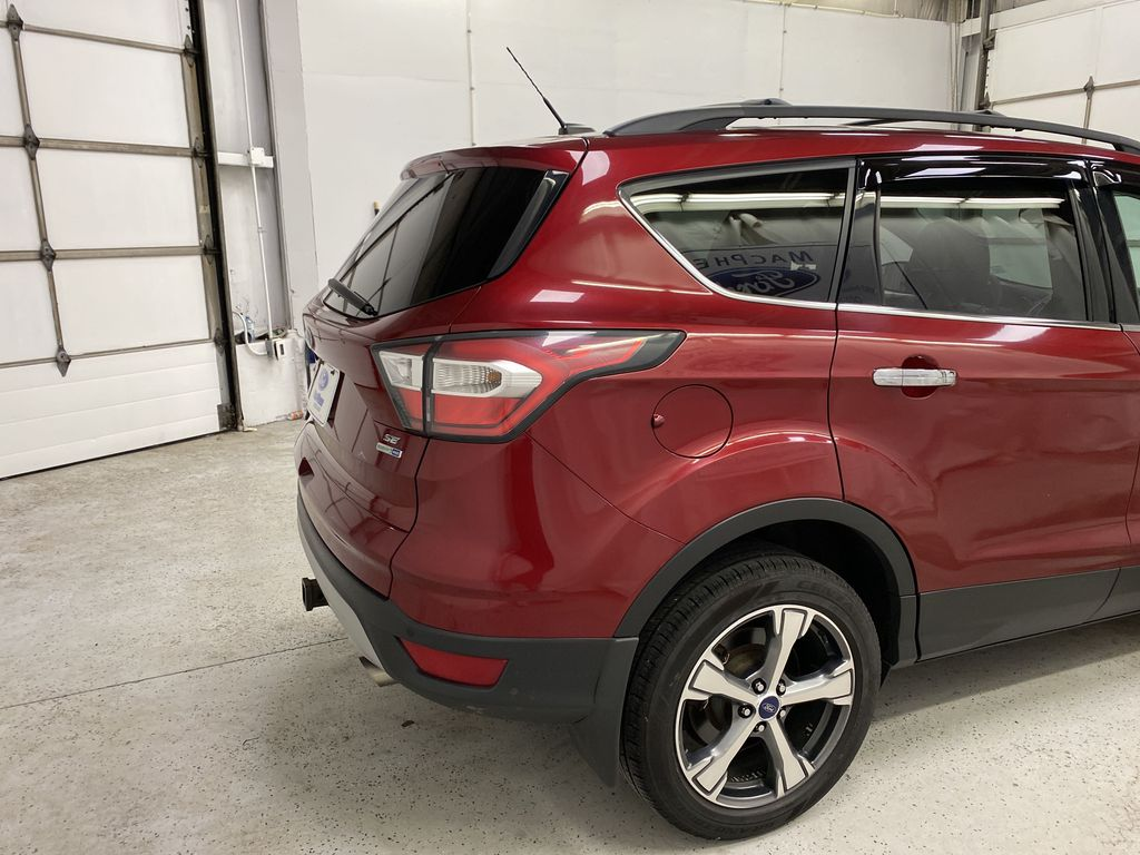 Red[Ruby Red Metallic Tinted Clearcoat] 2017 Ford Escape Right Rear Corner Photo in Dartmouth NS