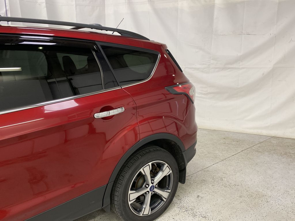 Red[Ruby Red Metallic Tinted Clearcoat] 2017 Ford Escape Left Rear Corner Photo in Dartmouth NS
