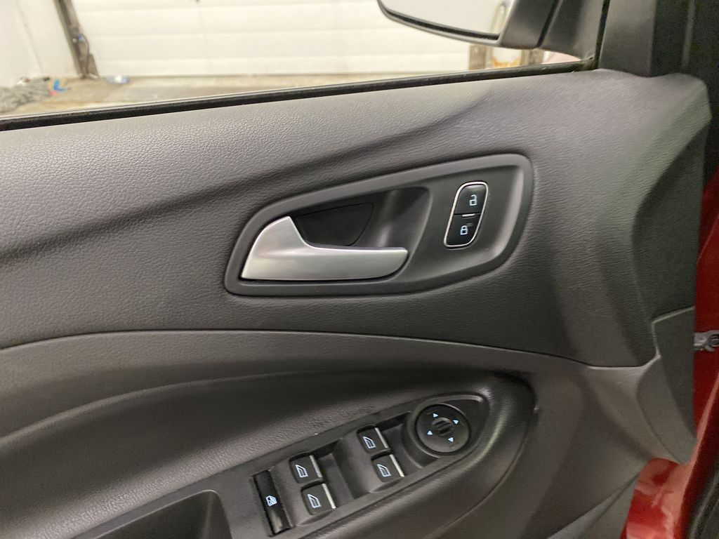 Red[Ruby Red Metallic Tinted Clearcoat] 2017 Ford Escape  Driver's Side Door Controls Photo in Dartmouth NS