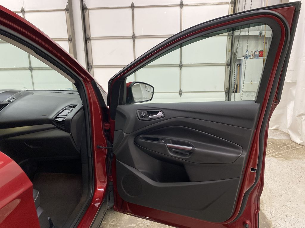 Red[Ruby Red Metallic Tinted Clearcoat] 2017 Ford Escape Right Front Interior Door Panel Photo in Dartmouth NS