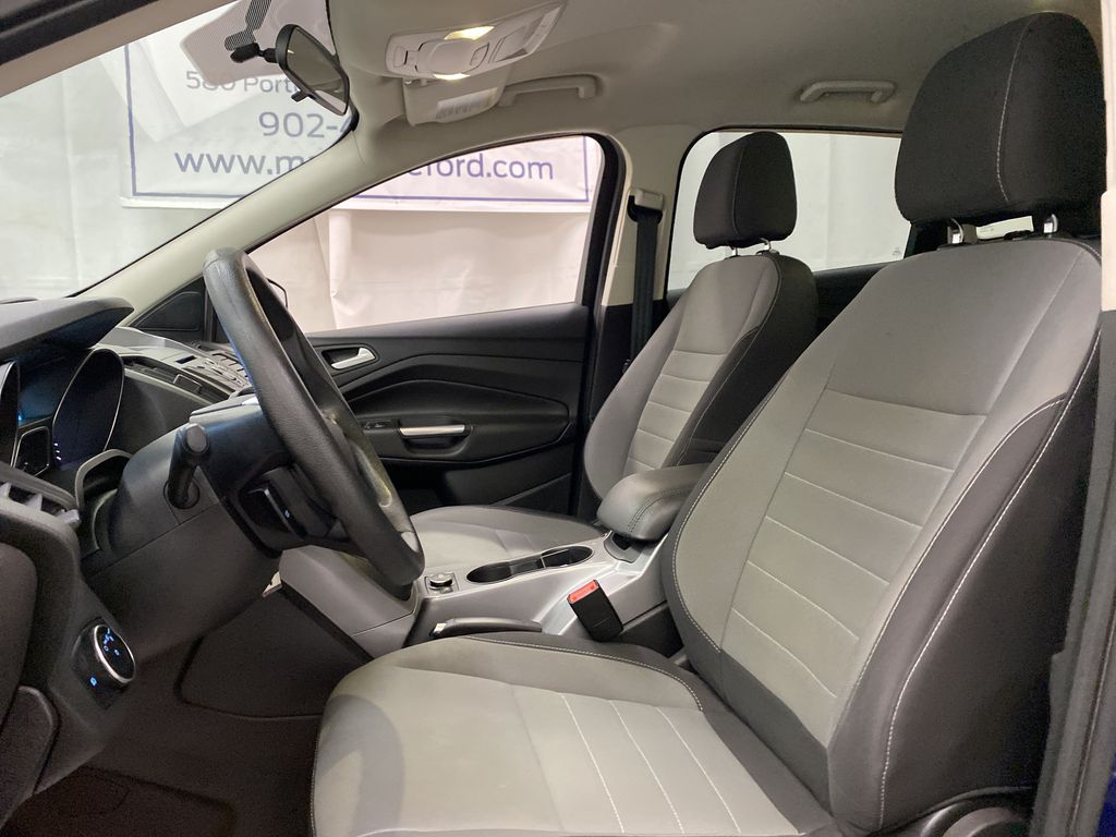 Blue[Deep Impact Blue Metallic] 2016 Ford Escape Left Front Interior Photo in Dartmouth NS