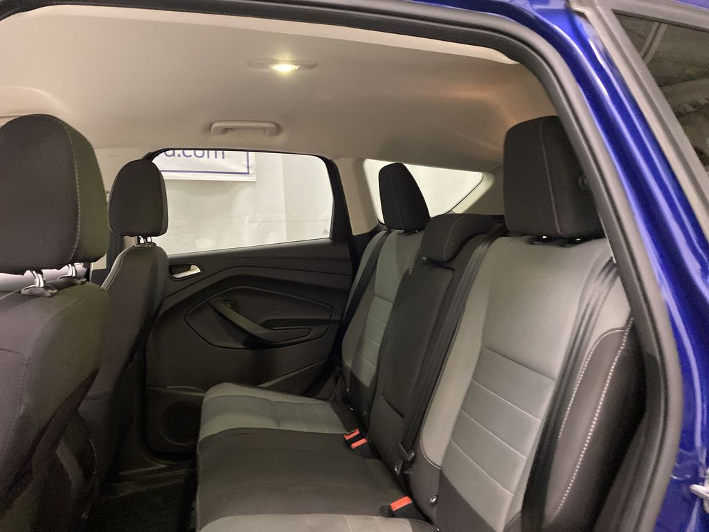 Blue[Deep Impact Blue Metallic] 2016 Ford Escape Left Side Rear Seat  Photo in Dartmouth NS