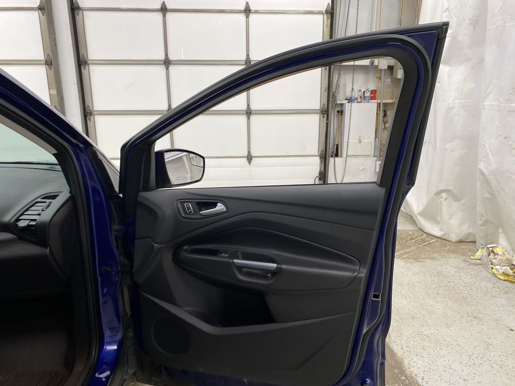 Blue[Deep Impact Blue Metallic] 2016 Ford Escape Right Front Interior Door Panel Photo in Dartmouth NS