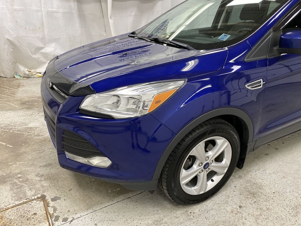 Blue[Deep Impact Blue Metallic] 2016 Ford Escape Left Front Corner Photo in Dartmouth NS