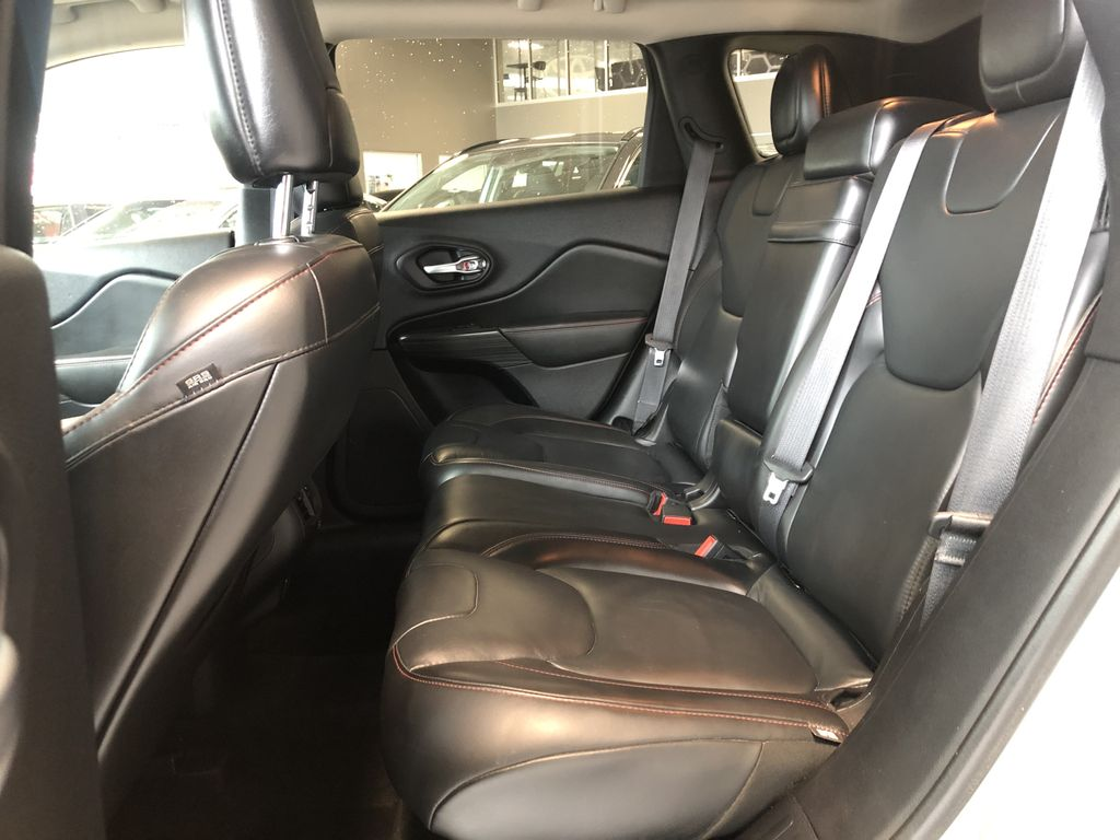 Silver 2016 Jeep Cherokee Trailhawk Engine Compartment Photo in Edmonton AB