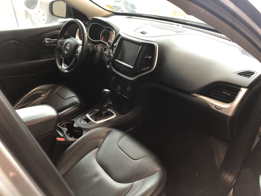 Silver 2016 Jeep Cherokee Trailhawk Left Driver Controlled Options Photo in Edmonton AB