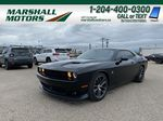 Black[Pitch Black] 2016 Dodge Challenger 2dr Cpe Scat Pack *6.4L V8 485HP* *Launch Mode* Primary Photo in Brandon MB