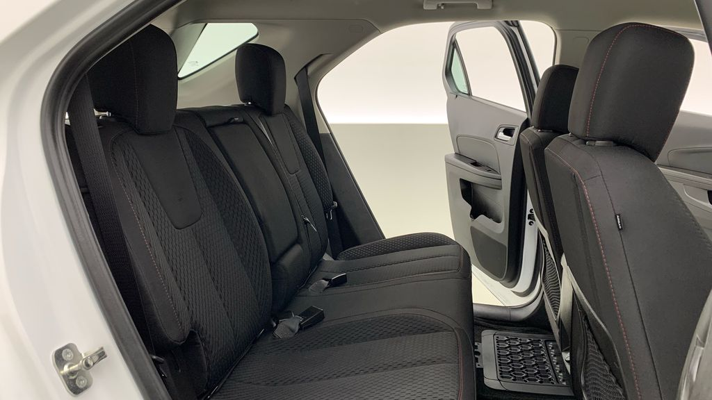 White[Summit White] 2015 Chevrolet Equinox LS - ONE OWNER, SiriusXM, Alloy Wheels Right Side Rear Seat  Photo in Winnipeg MB