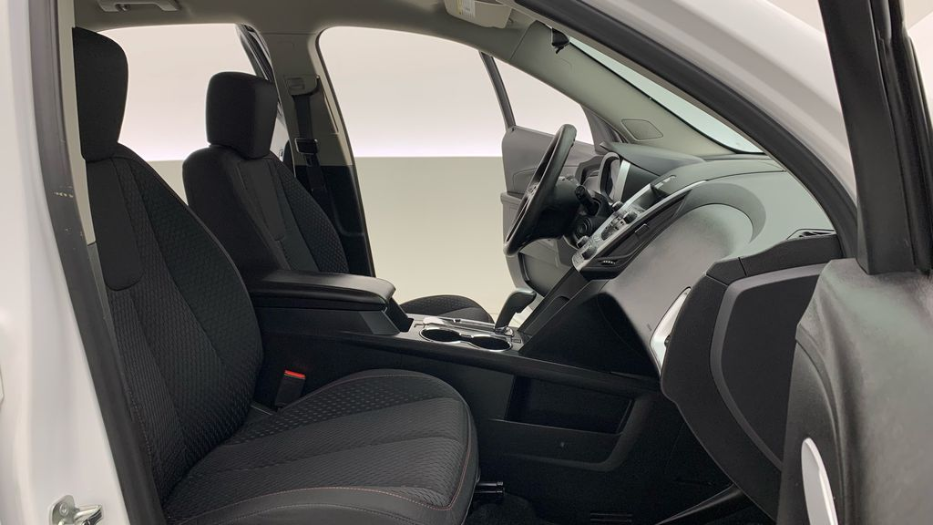 White[Summit White] 2015 Chevrolet Equinox LS - ONE OWNER, SiriusXM, Alloy Wheels Right Side Front Seat  Photo in Winnipeg MB