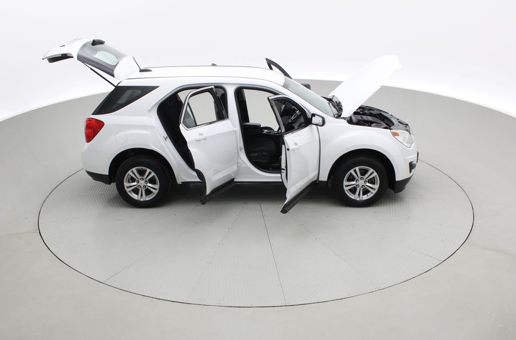 White[Summit White] 2015 Chevrolet Equinox LS - ONE OWNER, SiriusXM, Alloy Wheels Right Side Photo in Winnipeg MB