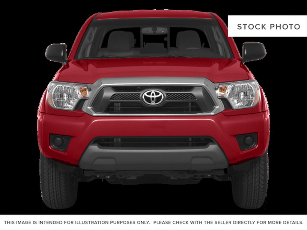 Silver[Silver Sky Metallic] 2015 Toyota Tacoma Front Vehicle Photo in Dartmouth NS