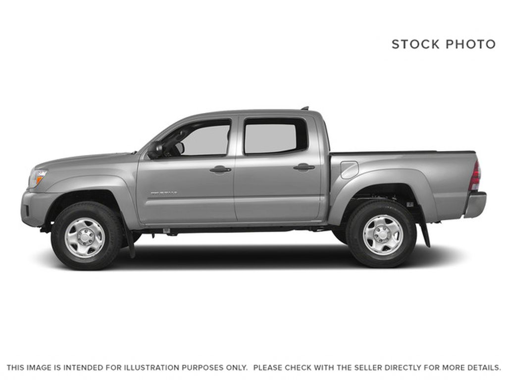 Silver[Silver Sky Metallic] 2015 Toyota Tacoma Left Side Photo in Dartmouth NS