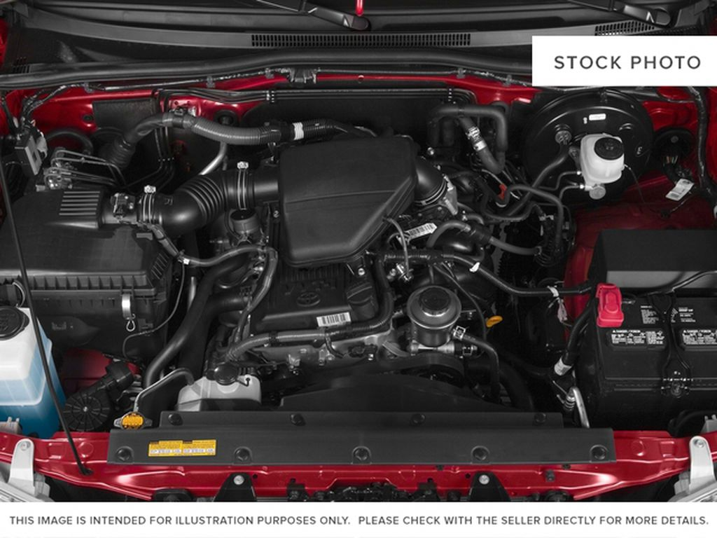 Silver[Silver Sky Metallic] 2015 Toyota Tacoma Engine Compartment Photo in Dartmouth NS