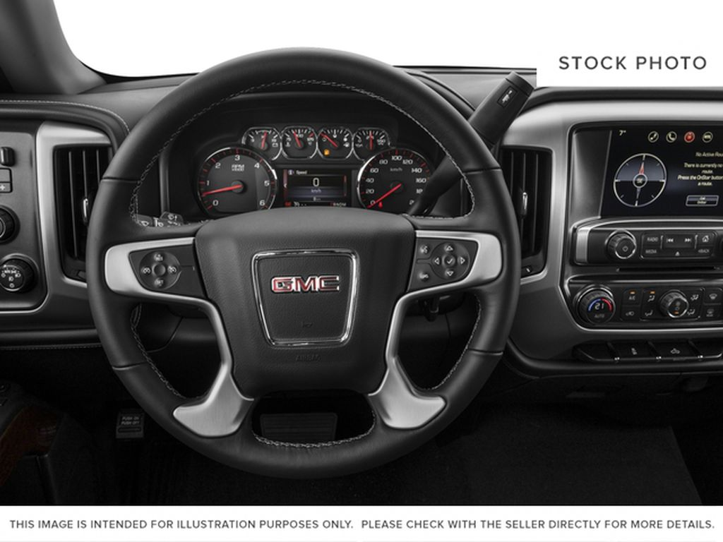 Red[Cardinal Red] 2016 GMC Sierra 1500 Steering Wheel and Dash Photo in Fort Macleod AB